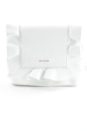 Ted baker Schultertasche weiß-roségoldfarben Elegant