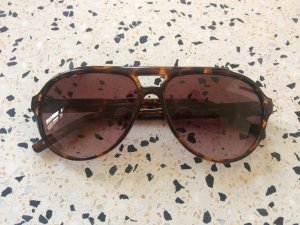 Ted baker Pilotenbril bruin-lichtbruin