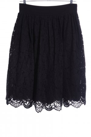 Ted baker Falda de encaje negro elegante