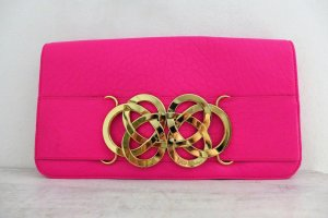 Ted Baker Tasche Clutch pink fuchsia gold NEU Limited Edition