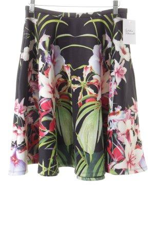 Ted baker Circle Skirt flower pattern romantic style