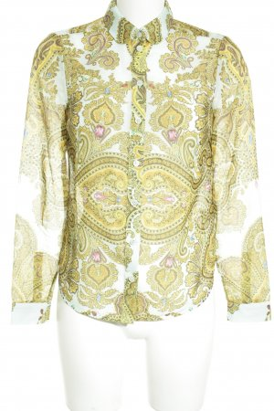 Ted baker Transparenz-Bluse Paisleymuster Street-Fashion-Look