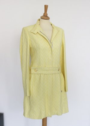 Ted baker Trench Coat pale yellow-white