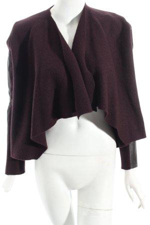 Ted baker Chaqueta de lana negro-púrpura estilo «business»