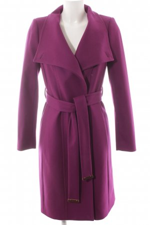 Ted baker Wollmantel violett-roségoldfarben Casual-Look