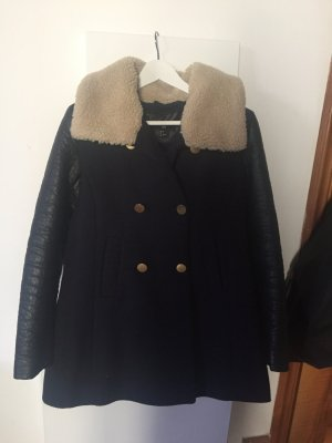 Teddy Fell Mantel H&M Winterjacke