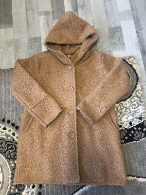 no name Veste oversize marron clair-chameau laine