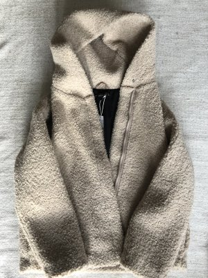 Zara Veste beige clair-crème
