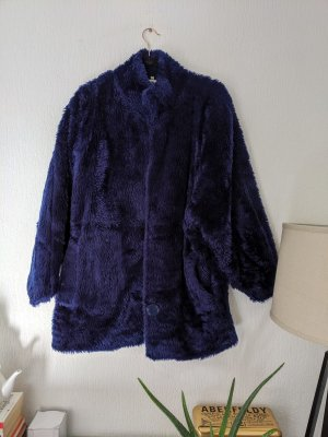 OuiSet Fake Fur Coat blue