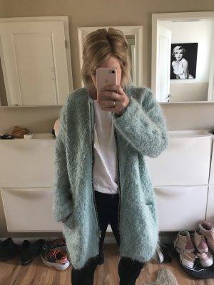 Zara Between-Seasons-Coat baby blue-pale blue