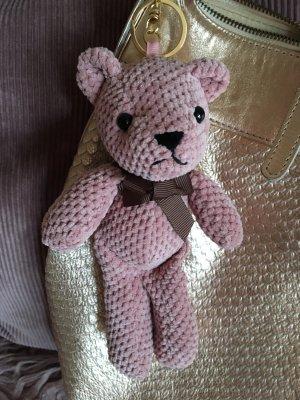 Teddy Schlüsselanhänger in rosa