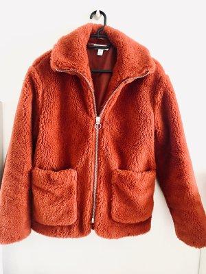Topshop Abrigo de entretiempo naranja oscuro-bermejo