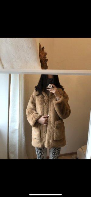 H&M Cappotto corto marrone chiaro