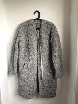 Edited Fake Fur Coat grey-light grey
