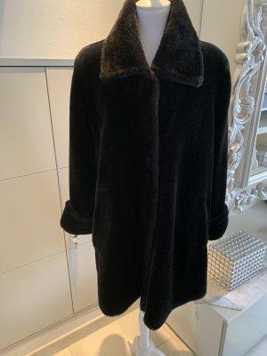 Teddyjacke schwarz gr 40
