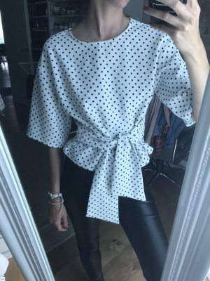 Tee dots instyle white black