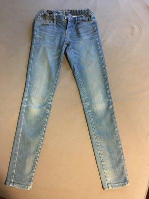 Pepe Jeans London Jeans vita bassa blu fiordaliso