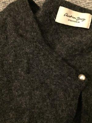 Christian Berg Gilet tricoté gris anthracite