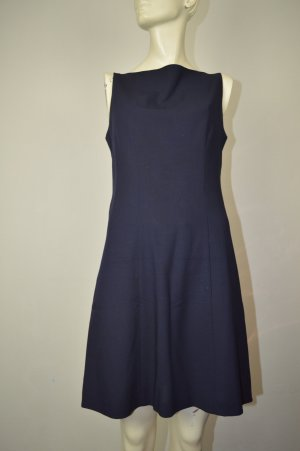 Telex eldes 100% Woll-Kleid Gr. 38 dunkelblau