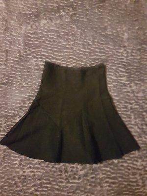 Zara Knit Knitted Skirt black