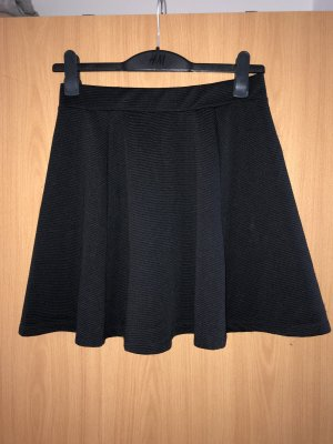 H&M Divided Circle Skirt black-silver-colored
