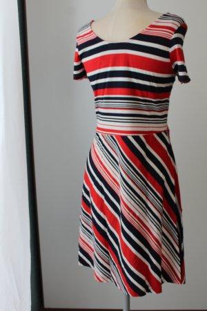 Tellerkleid Kleid kurz Gr. 44 XL neu Esmara retro kurzarm Sommerkleid 60iger Jahre Look