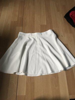 Primark Falda circular blanco