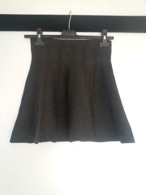 C&A Falda circular gris antracita