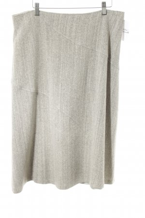 Circle Skirt sage green-grey flecked classic style
