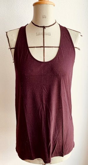 Acne Muscleshirt bordeaux
