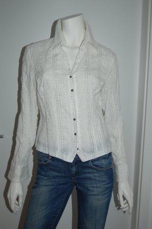 Tendenza Crash Blouse white cotton