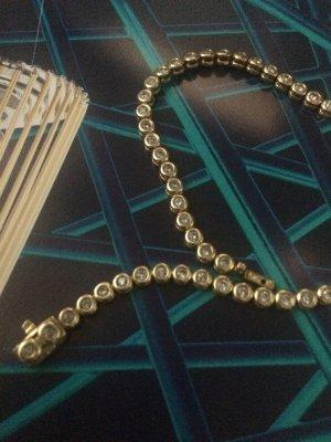 Tennis Armband 585 er Gold mit Diamanten besetzt