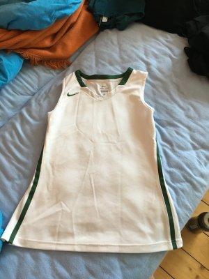 Tennisshirt Nike weiß-grün Gr. M