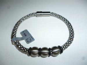 Bracelet argenté bronze