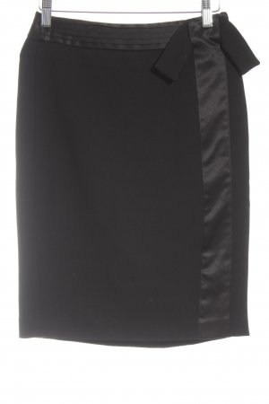 Tension Pencil Skirt black business style