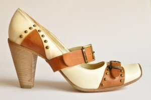 Loafers veelkleurig Leer