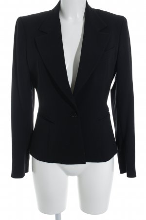Ter et Bantine Long-Blazer schwarz Business-Look