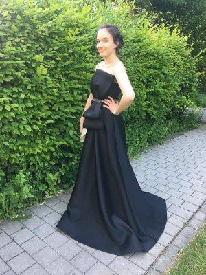 terani couture schwarzes Ballkleid