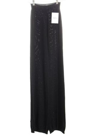 Terre Alte Wollhose schwarz klassischer Stil