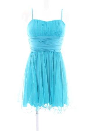 Terry Chiffon jurk blauw elegant