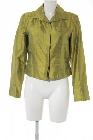 Tesini Linea Kurz-Blazer wiesengrün-khaki Elegant