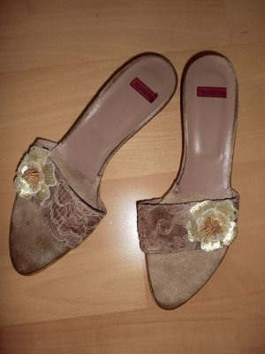 Sandalo con cinturino bronzo