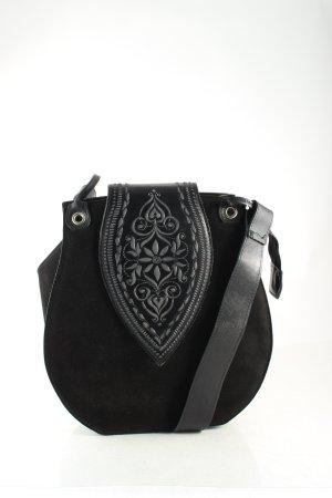 Teufel Design Trachtentasche schwarz Country-Look