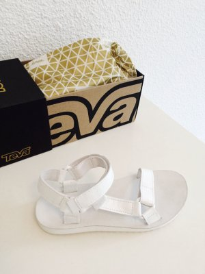Teva Outdoor Sandals white leather