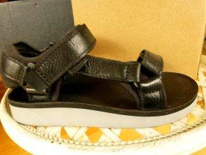 Teva Sandale d'extérieur noir cuir
