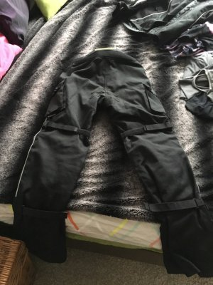 Textil Motorradhose MadHead