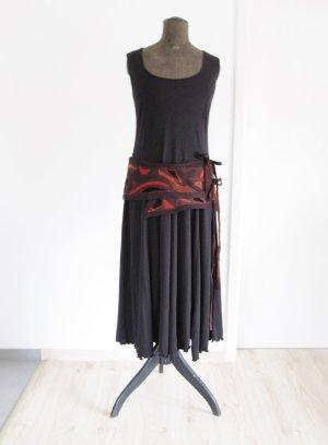 Cinturón de cadera multicolor lana merina