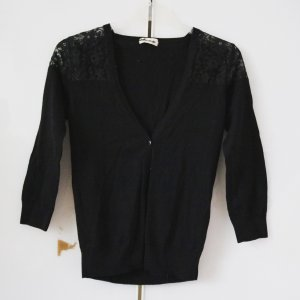 Tezenis Shirt Jacket black cotton