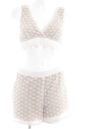 Tezenis Shorts creme-beige florales Muster Boho-Look