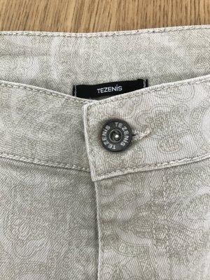 Tezenis Stretch-Jeans/Jeggins beige Gr. S tolles Muster